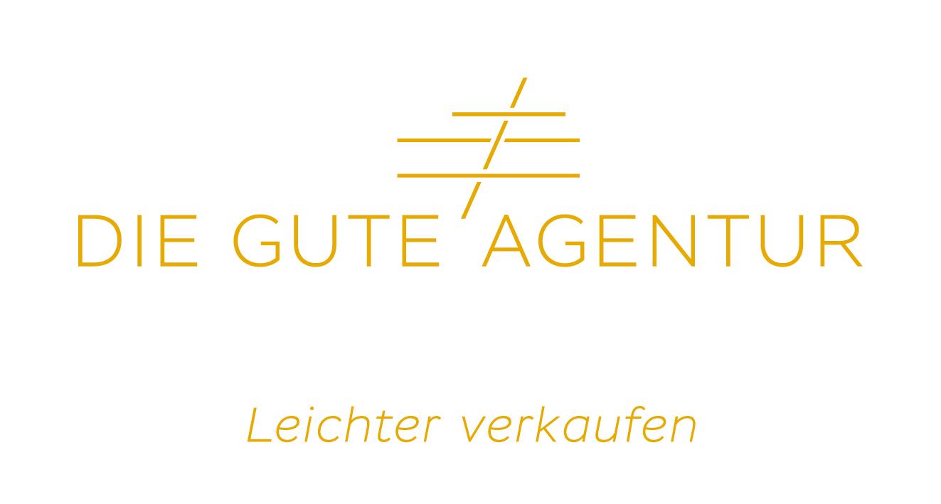 Logo und Claim die Gute Agentur
