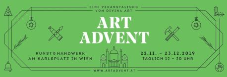 Key Visual des Art Advents am Karlsplatz
